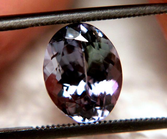 3.09 Carat IF/VVS1 Tanzanite - Gorgeous Gem