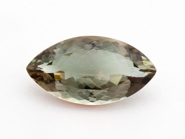 8ct Oregon Sunstone, Dichroic/Clear Marquis (S1210)