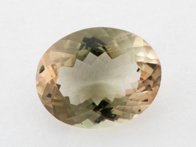 2.2ct Oregon Sunstone, Clear/Green Oval (S1223)