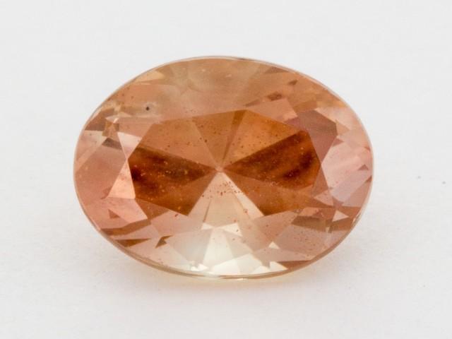 2.5ct Peach Oval Sunstone (S1254)