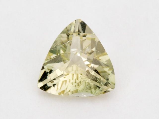 1.7ct Oregon Sunstone, Champagne/Green Triangle (S1019)