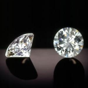NATURAL SOLITIARE DIAMOND,1.03CTWSIZE-2PCS PAIR ,NR