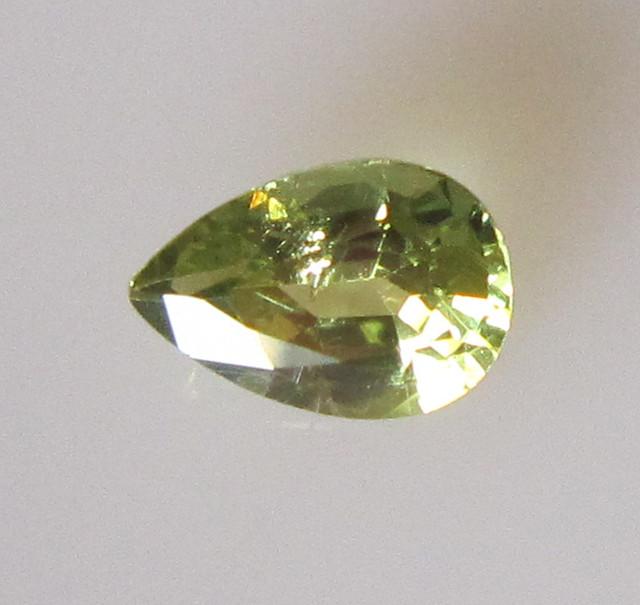 0.74cts Natural Australian Parti Sapphire Pear Shape