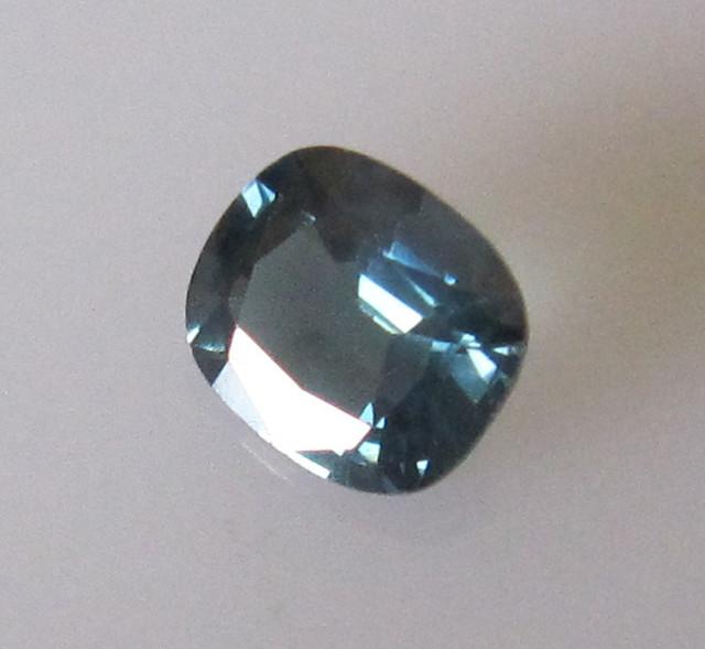 0.66cts Natural Australian Blue Sapphire Cushion Cut