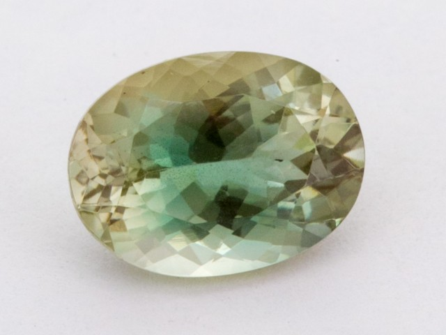 3.4ct Oregon Sunstone, Green/Clear Oval (S1322)