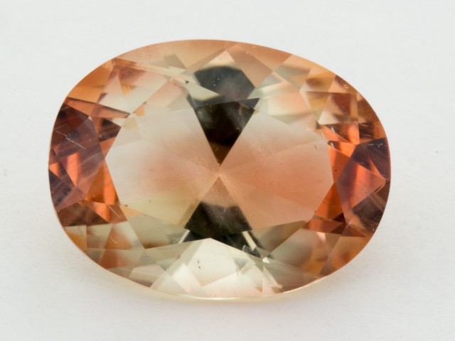 5ct Clear Dark Pink Oval Sunstone (S1252)