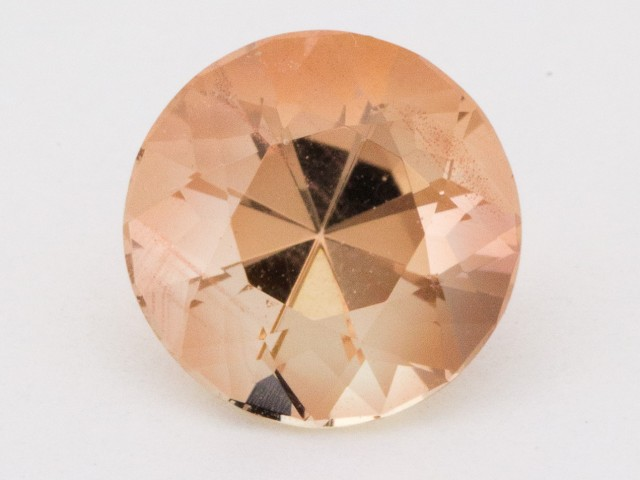 2.8ct Peach Round Sunstone (S1264)