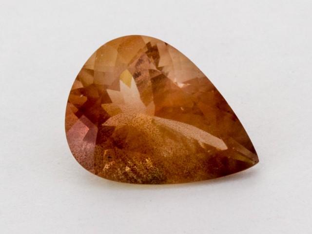 3ct Peach Pear Sunstone (S1285)
