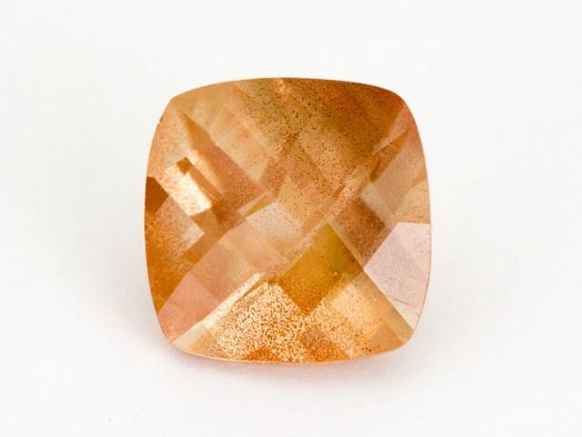 4.4ct Peach Square Sunstone (S1470)