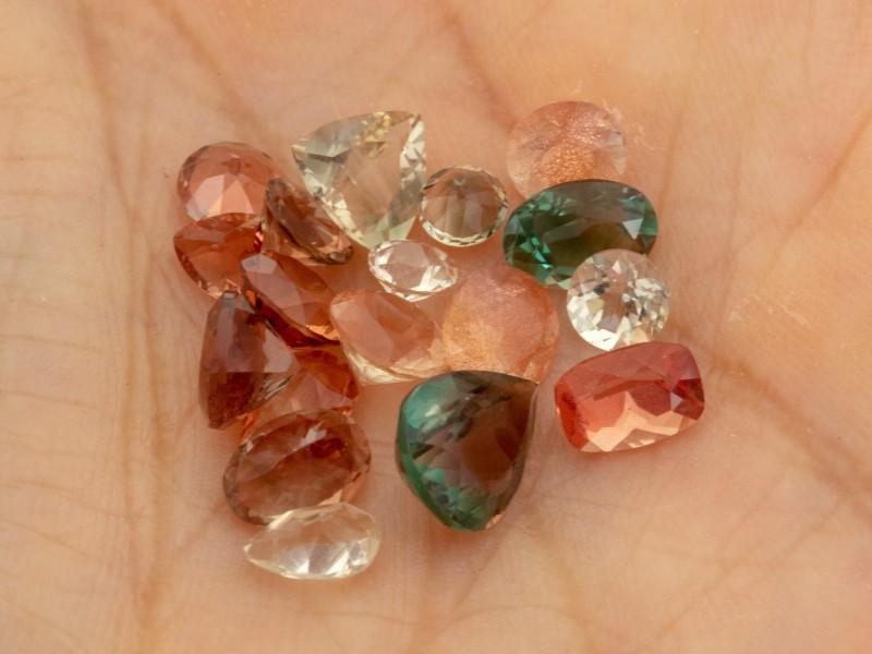 SALE! 10ctw Oregon Sunstones Mixed Parcel (SL1940)