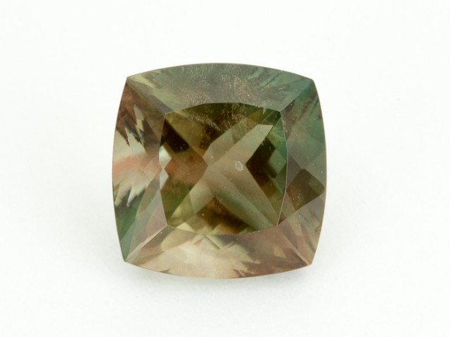 8.1ct Green Square Sunstone (S1943)
