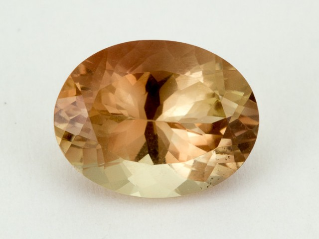 5ct Oregon Sunstone, Pink/Champagne Oval (S1946)