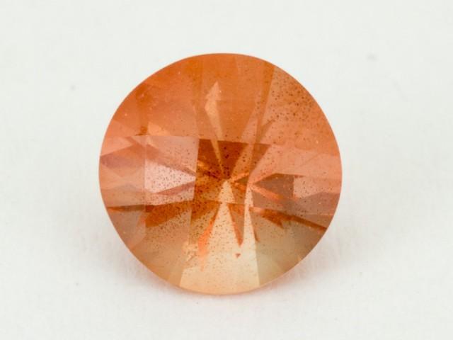 .85ct Oregon Sunstone, Peach Round (S1956)