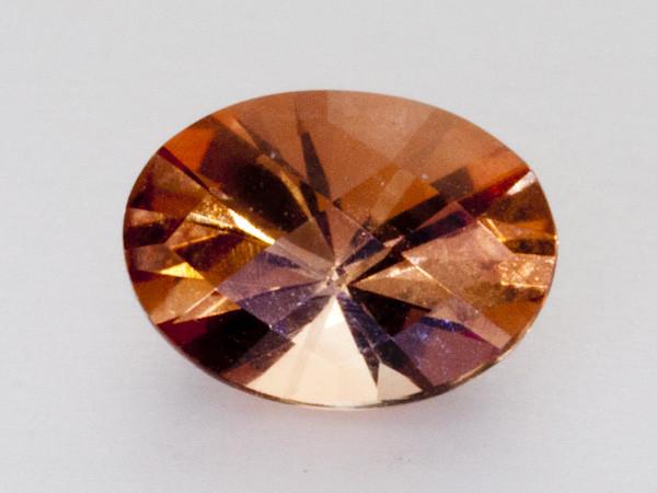 0.7ct Peach Oval Sunstone (S1962)