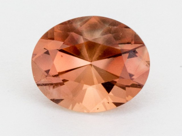 2.6ct Peach Oval Sunstone (S471)