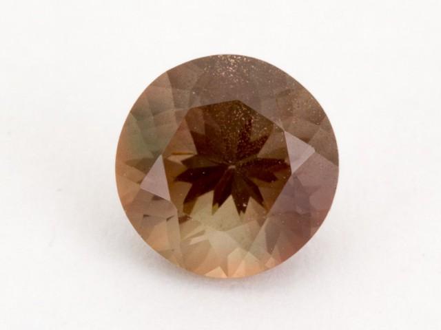 1.4ct Oregon Sunstone, Rootbeer Round (S1828)