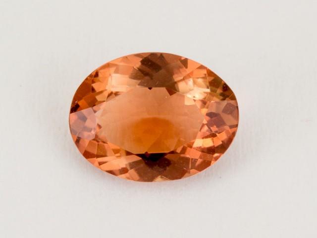 1.6ct Oregon Sunstone, Red/Peach Oval (S1816)