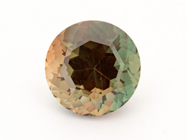 SALE WAS $4840 ~ 8.8ct Oregon Sunstone, Dichroic Round (S1908)