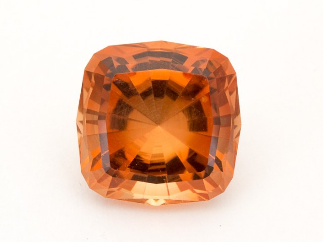 SALE WAS $5236 ~ 13.6ct Oregon Sunstone, Peach Square (S1898)