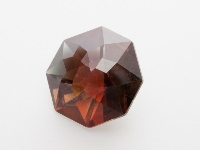 8.3ct Red Green Octagon Sunstone (S1041)