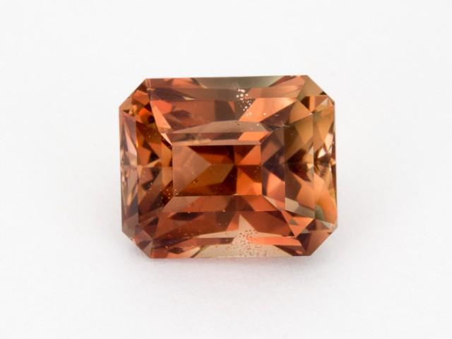 6.2ct Oregon Sunstone, Red/Peach Rectangle (S1900)