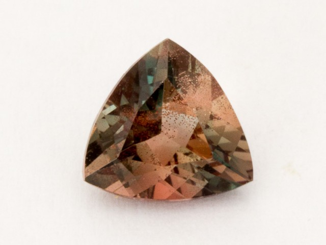 1ct Oregon Sunstone, Rootbeer Triangle (S1810)