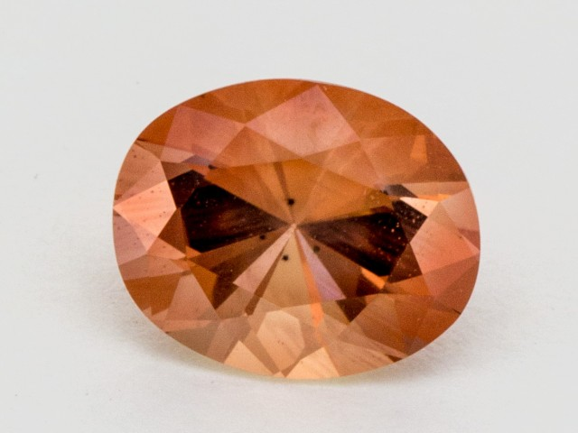 2.4ct Peach Oval Sunstone (S544)