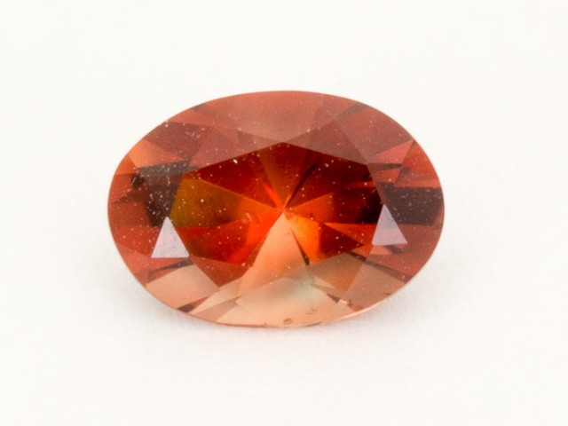 0.8ct Oregon Sunstone, Red Oval (S1814)