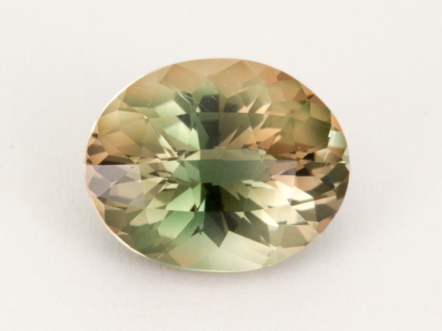 3.8ct Oregon Sunstone, Dichroic/Champagne Oval (S1010)