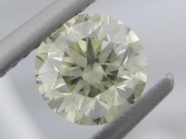 1.10ct VS Natural Light Yellow DIAMOND