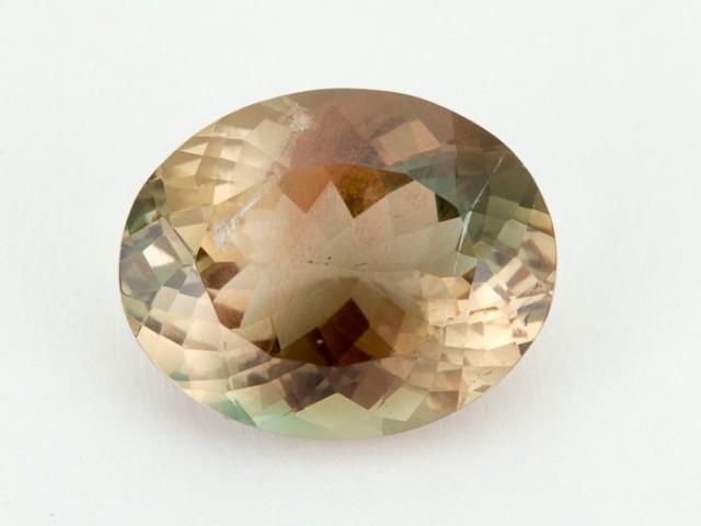 8.1ct Oregon Sunstone, Pink/Green Oval (S1088)