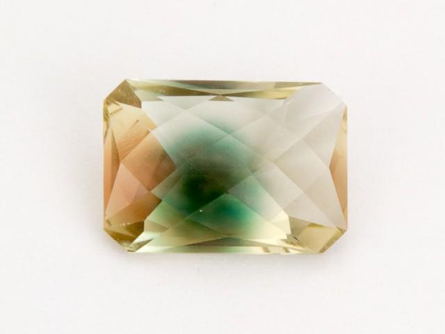 6.1ct Oregon Sunstone, Bicolor Rectangle (S1098)