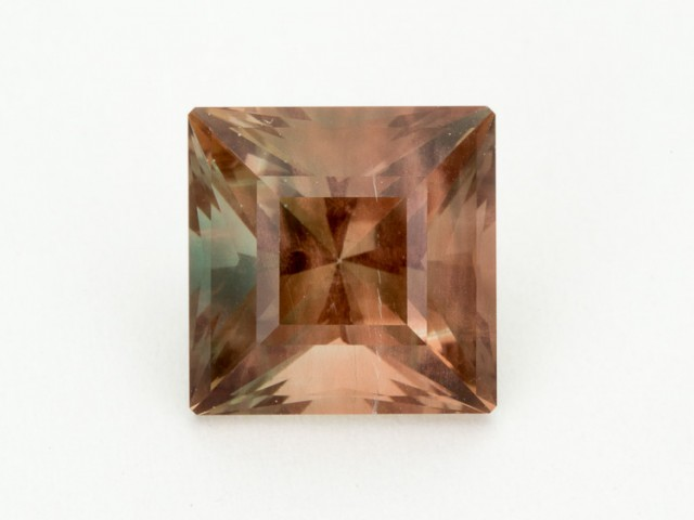 6.8ct Oregon Sunstone, Pink/Green Square (S1395)