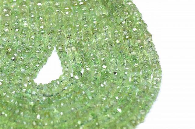 "16 - 17"" 3mm Grossular Mali Garnet gemstone beads GGA001"