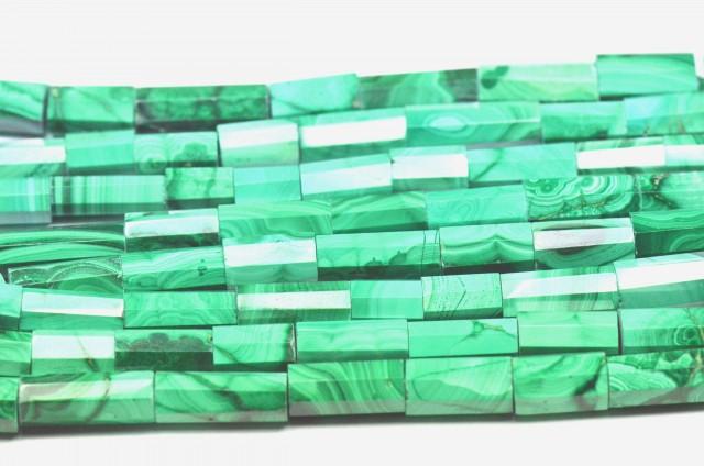 "NEW & SALE 10mm 15"" line MALACHITE tube beads AAA MAL003"