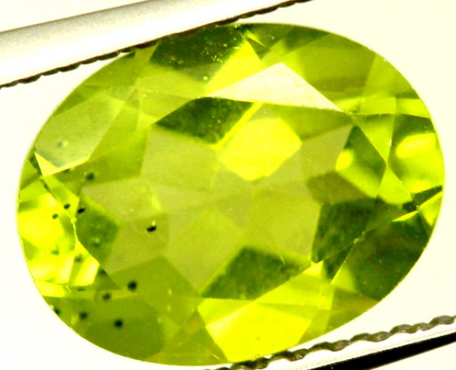 PERIDOT FACETED STONE 2 CTS PG-927