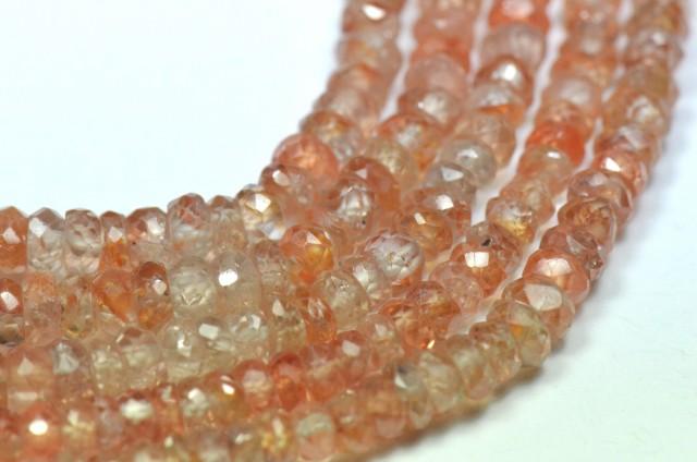 """New item 3mm 13.5"""" Zircon faceted beads ZIR003"""
