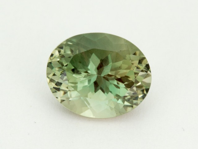 3.6ct Oregon Sunstone, Green/Clear Oval (S1973)
