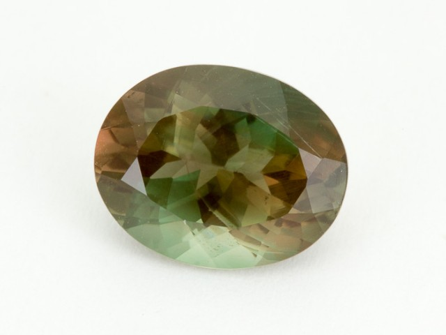 5.3ct Oregon Sunstone, Green/Dichroic Oval (S1983)
