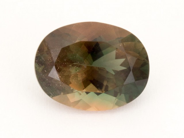 3.3ct Oregon Sunstone, Bicolor Rootbeer Oval (S2039)