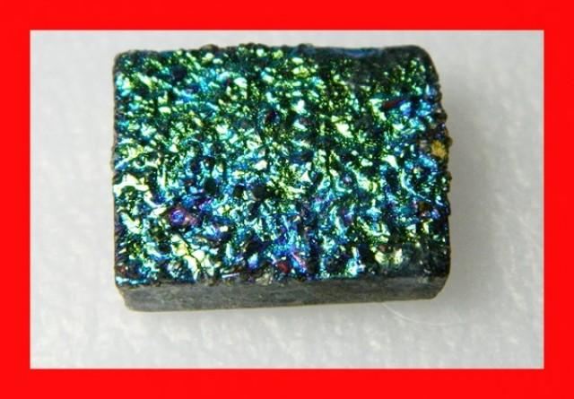 41cts Natural Titanium Druzy Cab Stone Z883