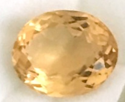 Beautiful 9.4ct Golden Yellow Luminous Citrine  A904 F78