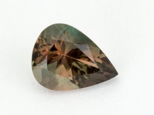 1.1ct Oregon Sunstone, Green/Pink Pear (S2085)