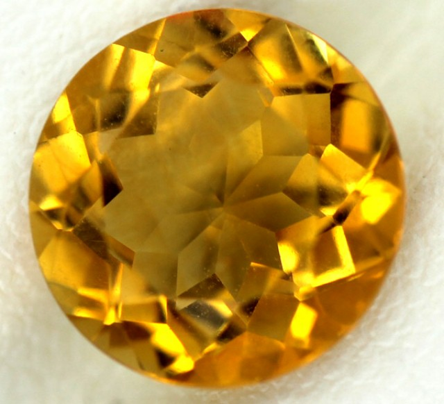 CITRINE NATURAL FACETED 2.10 CTS CG-32