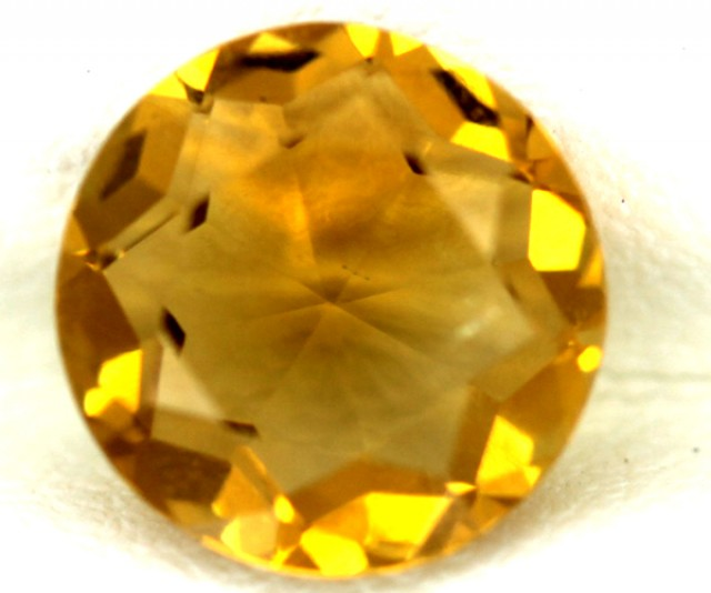 CITRINE NATURAL FACETED2.30  CTS 9X9  CG-35
