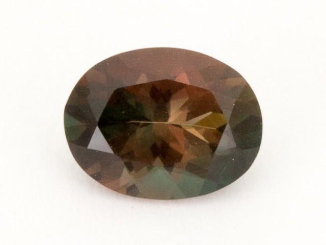 1.3ct Oregon Sunstone, Bicolor Rootbeer Oval (S2121)