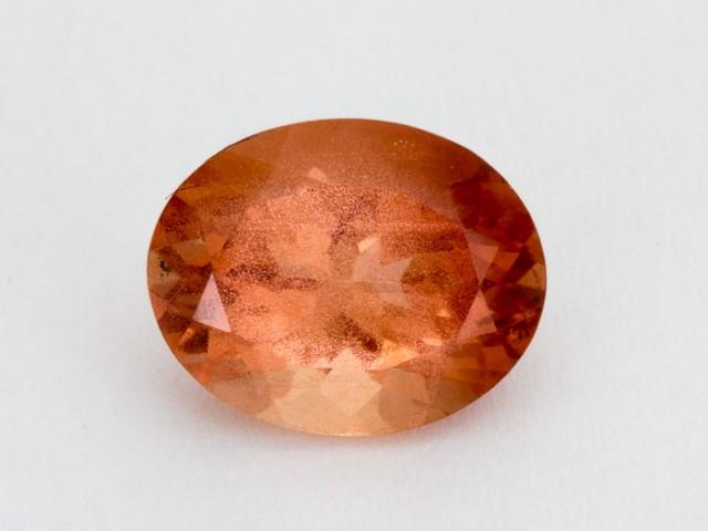 2.6ct Oregon Sunstone, Red/Peach Oval (S2056)