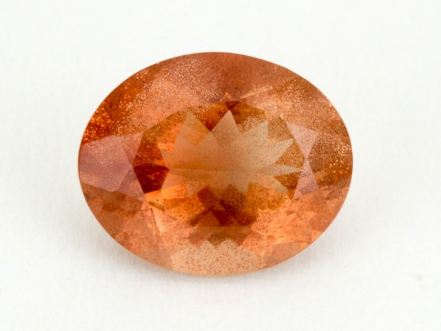 2.5ct Oregon Sunstone, Peach Oval (S2074)