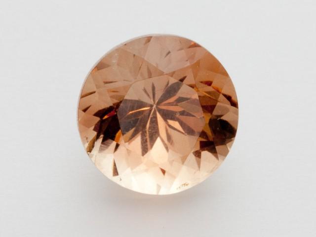 3.1ct Oregon Sunstone, Peach Round (S2130)