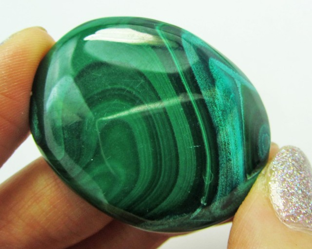 88.55CTS   MALACHITE GEMSTONE  GG 1111